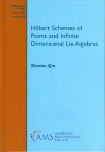 Hilbert schemes of points and infinite dimensional Lie algebras