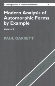 Modern analysis of automorphic forms by example