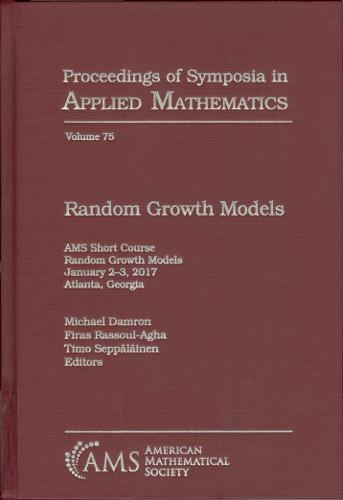 Random growth models