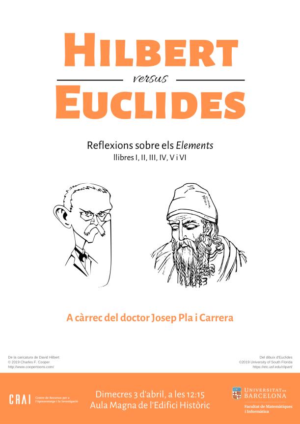 Hilbert vs Euclides: reflexions sobre els elements