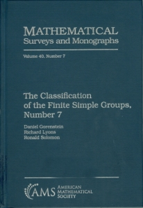 The Classification of the finite simple groups