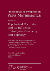Topological Recursion and its Influence in Analysis, Geometry, and Topology