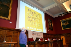 Un record pels presos polítics i pels exiliats