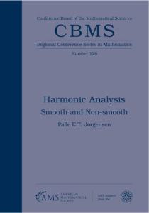 Harmonic analysis : smooth and non-smooth