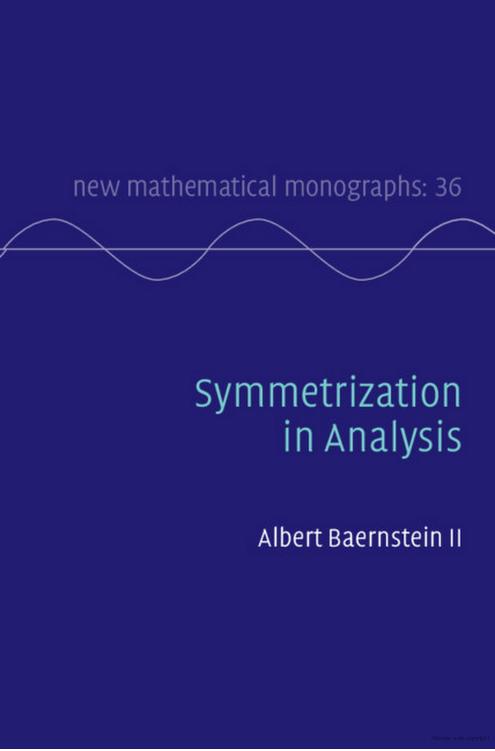 Symmetrization in Analysis