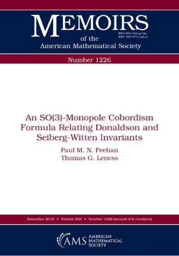 An SO(3)-monopole cobordism formula relating Donaldson and Seiberg-Witten invariants