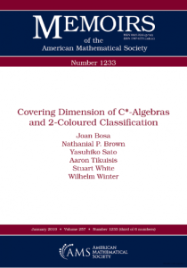 Covering Dimension of C -Algebras and 2-Coloured Classification