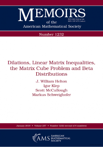 Dilations, Linear Matrix Inequalities, the Matrix Cube Problem and Beta Distributions