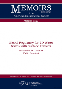Global regularity for 2D water waves with surface tension