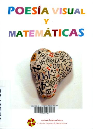Poesía visual y matemáticas : XXIII Open matemático