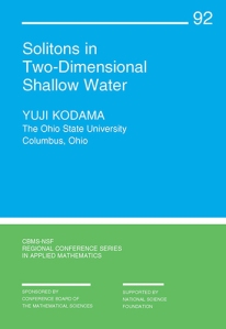 Solitons in two-dimensional shallow wate