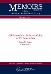 CR embedded submanifolds of CR manifolds