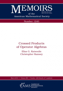 Crossed products of operator algebras