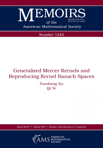 Generalized Mercer kernels and reproducing kernel Banach spaces