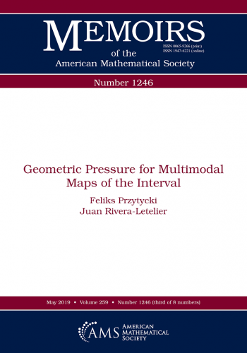 Geometric pressure for multimodal maps of the interval