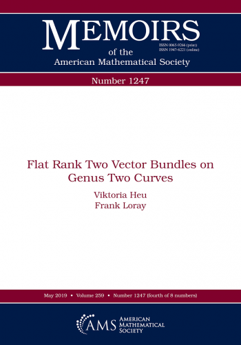 Flat rank two vector bundles on genus two curves