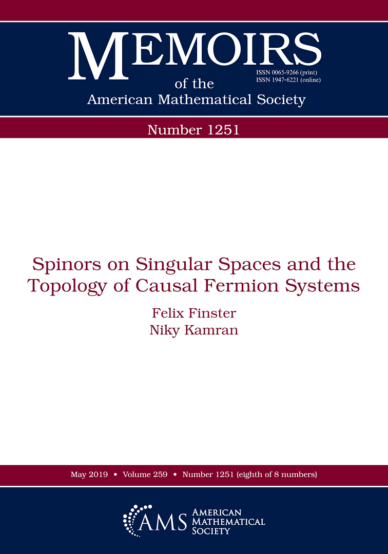 Spinors on singular spaces and the topology of causal Fermion systems