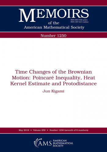 Time changes of the Brownian motion : Poincaré inequality, heat kernel estimate, and protodistance