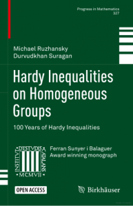 Hardy inequalities on homogeneous groups : 100 years of Hardy inequalities