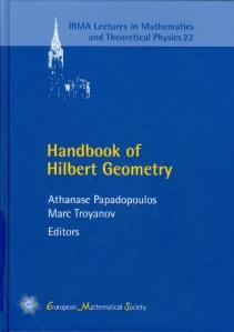 Handbook of Hilbert geometry