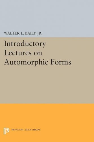 Introductory lectures on automorphic forms