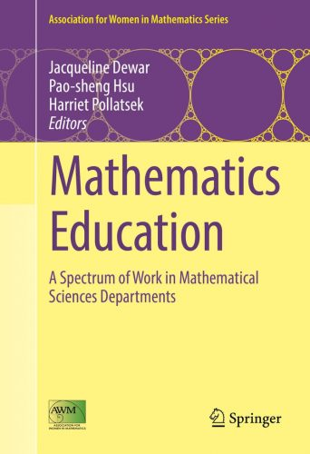 Mathematics education : a spectrum of work in mathematical sciences departments