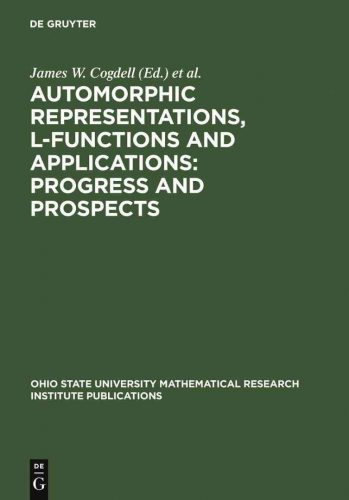 Automorphic representations, L-functions, and applications : progress and prospects : proceedings of a conference honoring Steve Rallis on the occasion of his 60th birthday, the Ohio State University, March 27-30, 2003