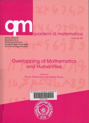 Overlapping of mathematics and humanities