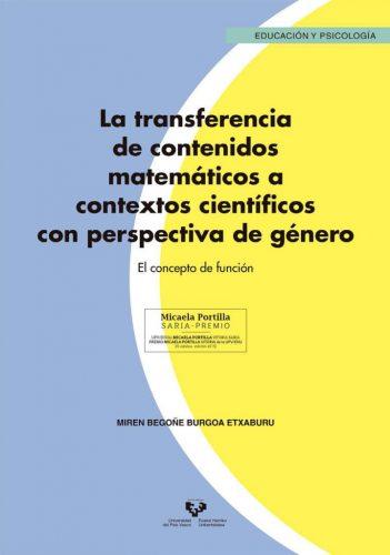 La transferencia de contenidos matemáticos a contextos científicos con perspectiva de género : el concepto de función