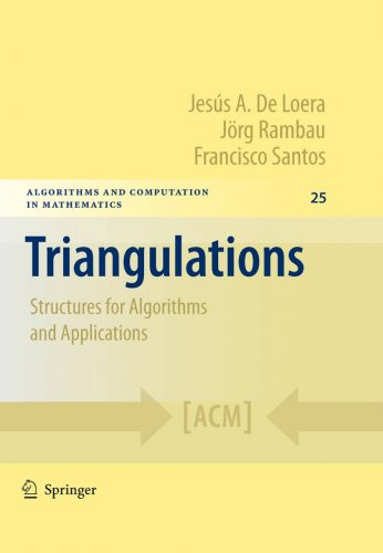 Triangulations : structures for algorithms and applications