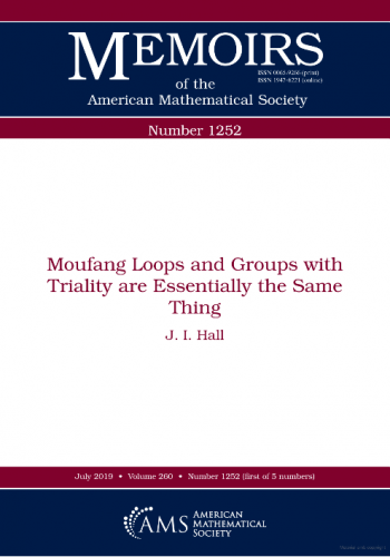 Moufang loops and groups with triality are essentially the same thing