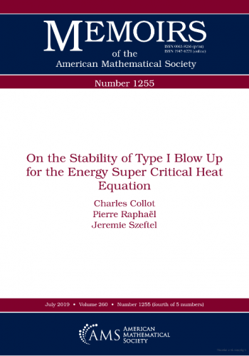 On the stability of type I blow up for the energy super critical heat equation