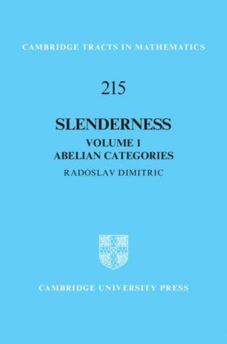 Slenderness. Vol 1. Abelian categories