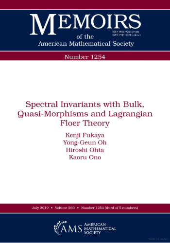 Spectral invariants with bulk, quasi-morphisms and Lagrangian Floer theory