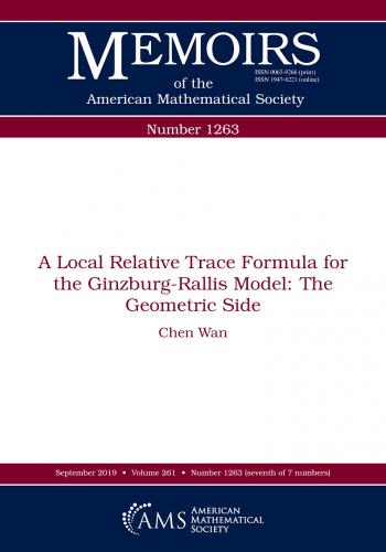 A local relative trace formula for the Ginzburg-Rallis model: the geometric side