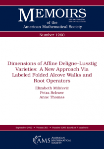 Dimensions of affine Deligne-Lusztig varieties : a new approach via labeled folded alcove walks and root operators