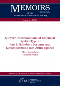 Quiver Grassmannians of extended Dynkin type D: Part 1: Schubert systems and decompositions into affine spaces