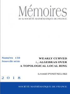 Weakly curved A∞-Algebras over a topological local ring