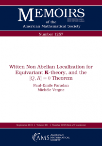 Witten non abelian localization for equivariant K-theory, and the [Q,R] = 0 theorem
