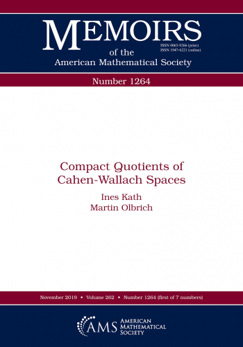 Compact quotiens of Cahen-Wallach spaces