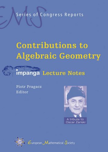 Contributions to Algebraic Geometry