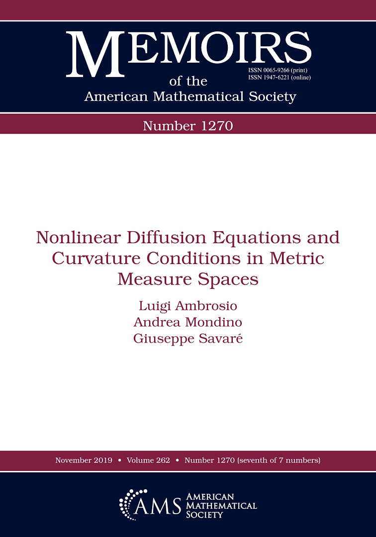 Nonlinear diffusion equations and curvature conditions in metric measure spaces