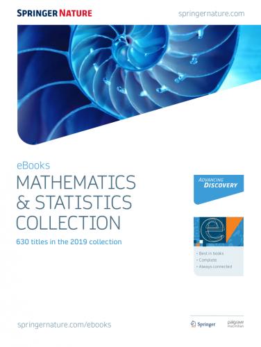 SpringerLink e-books (Mathematics and Statistics 2019)