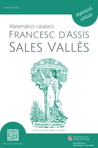 Matemàtics catalans: Francesc d'Assís Sales Vallès