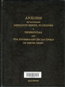 Análisis de cantidades mediante series, fluxiones y diferencias con una enumeración de las líneas de tercer orden