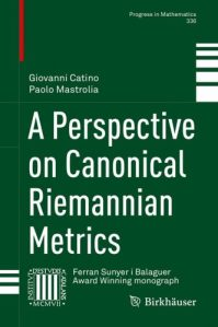A perspective on canonical Riemannian metrics