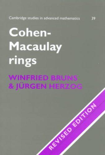 Cohen-Macaulay rings