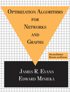 Optimization algorithms for networks and graphs