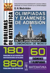 Problemas de matemática : olimpiadas y exámenes de admisión