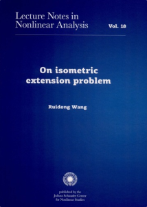 On the isometric extension problem